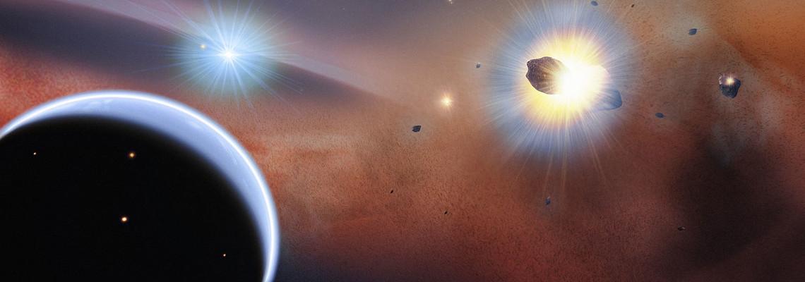 La danse de l'étoile Beta Pic et ses planètes