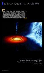 Le trou noir est-il troublant ?