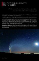 Un plan sur la comète