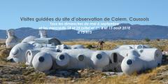 Visites guidées du site d'observation du plateau de Calern, Caussols (06)